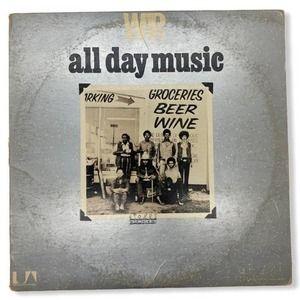 War All Day Music UAS 5546 Vinyl LP